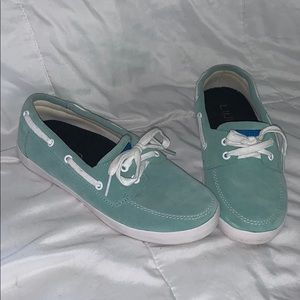 Turquoise Loafers